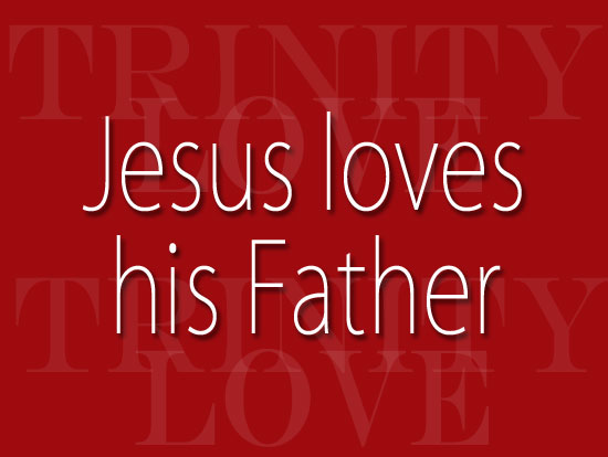 """Text image """"For Christ and His Father"""""""